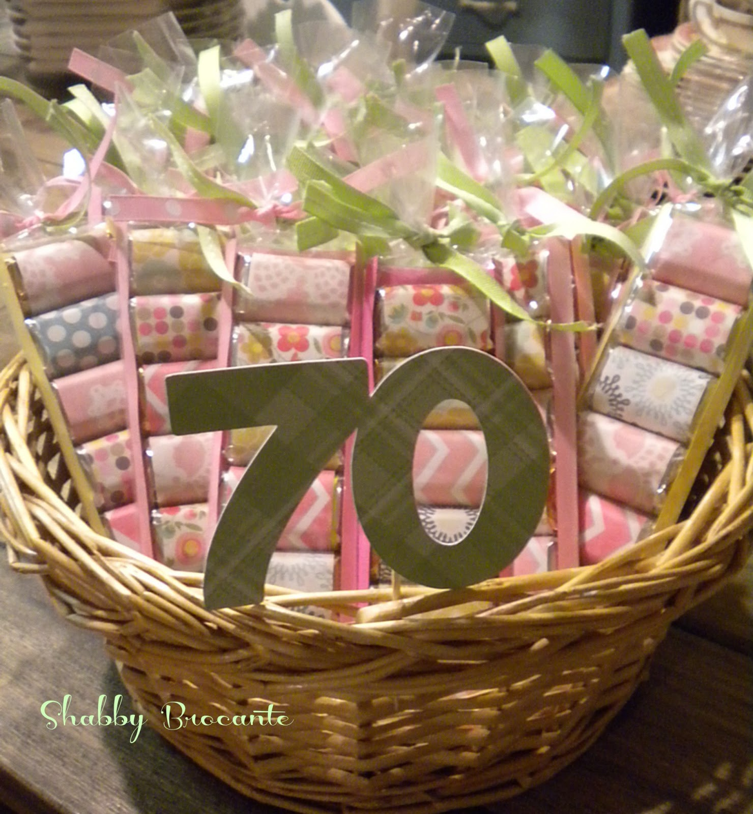 Shabby Brocante Hersey 39 S Adult Party Favors