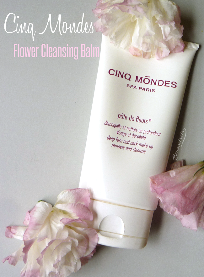 Cinq Mondes Bali's Ritual Indonesia Flower Cleansing Balm makeup remover cleanser spa