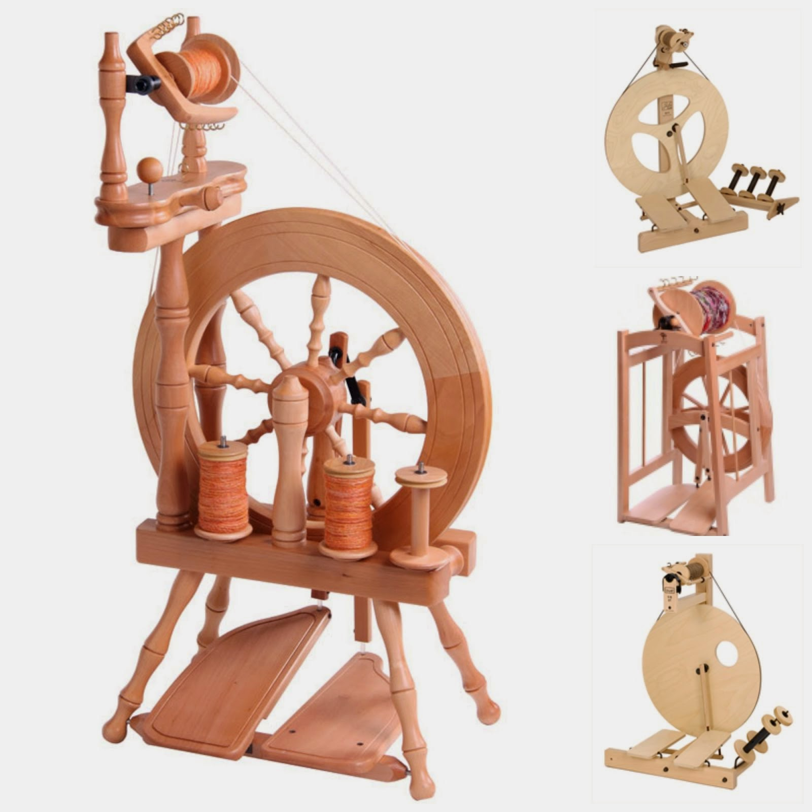Take a free spinning lesson with every spinning wheel purchased at London-Wul!