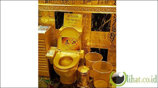 Kisah dan fakta menarik di balik toilet terkenal dunia
