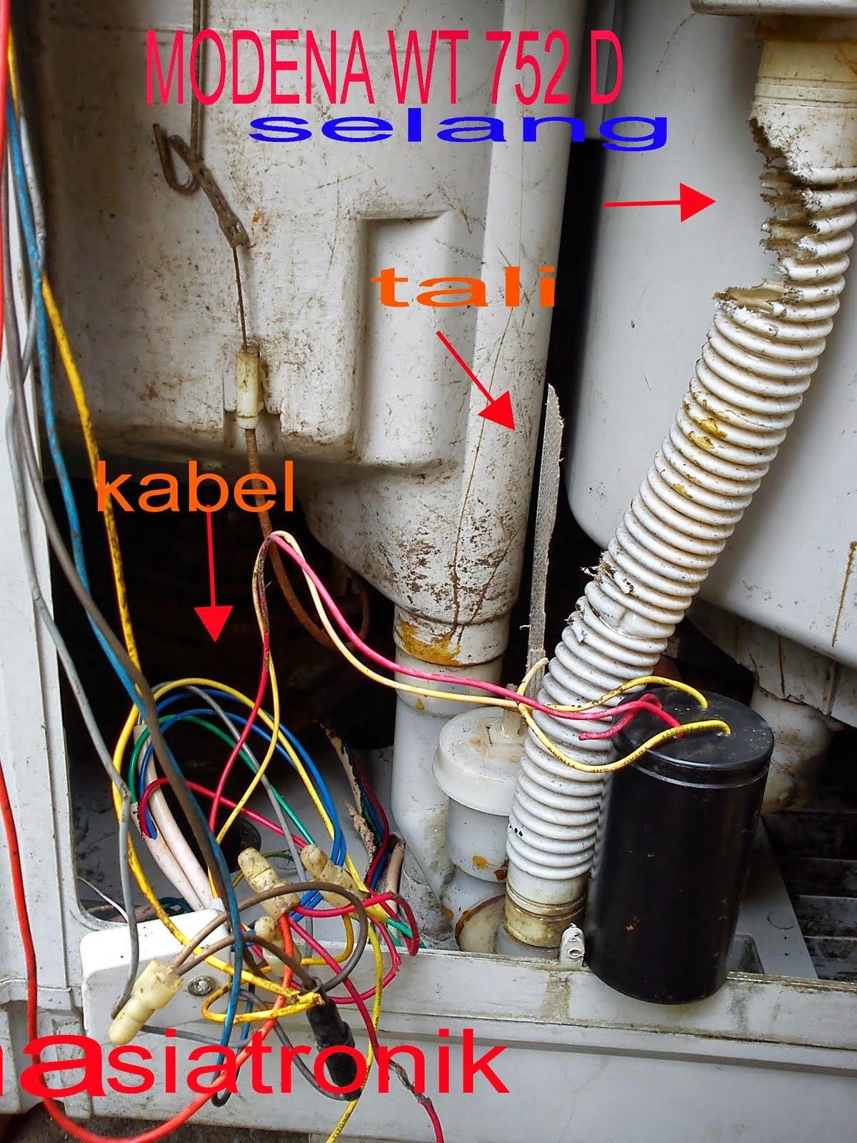 Tehknik Elektronika Mengatasi Kerusakan Pada Mesin Cuci