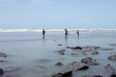 Inani Sea Beach, Cox's Bazar, Bangladesh
