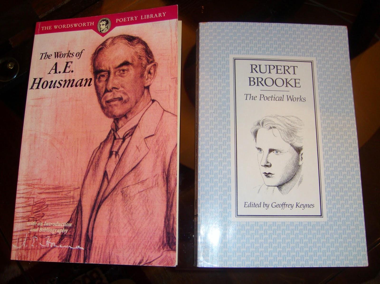A.E.Houseman & Rupert Brooke