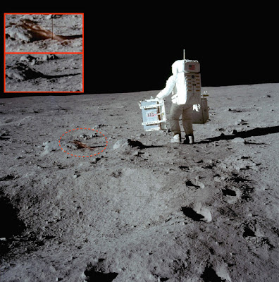 Anomaly Appears From Nowhere Near Buzz Aldrin, UFO Sightings