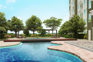 Swimming Pool at Avida Towers Astrea Fairview Quezon City