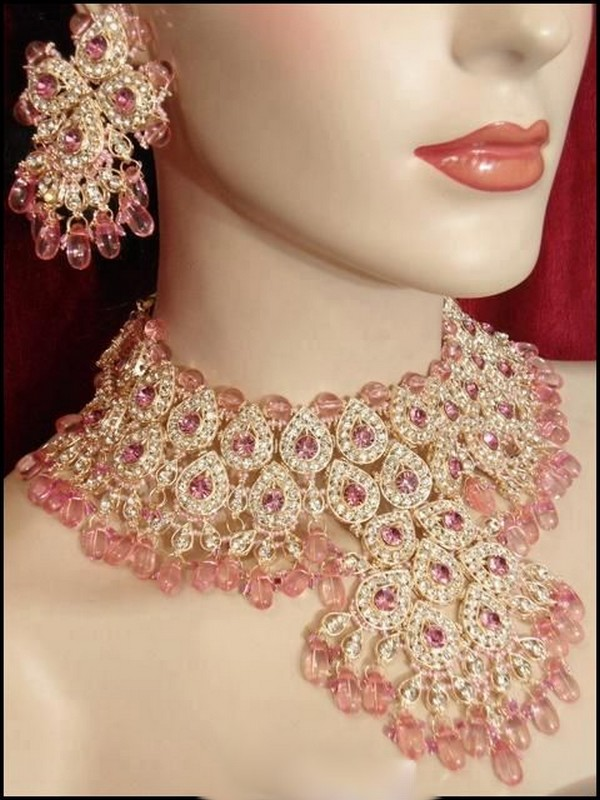 Indian Bridal Jewelry Set 2012 13 Pakistani Fashion