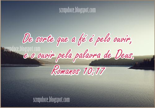 Recadinho com Versículo Bíblico sobre Fé para compartilhar no Facebook