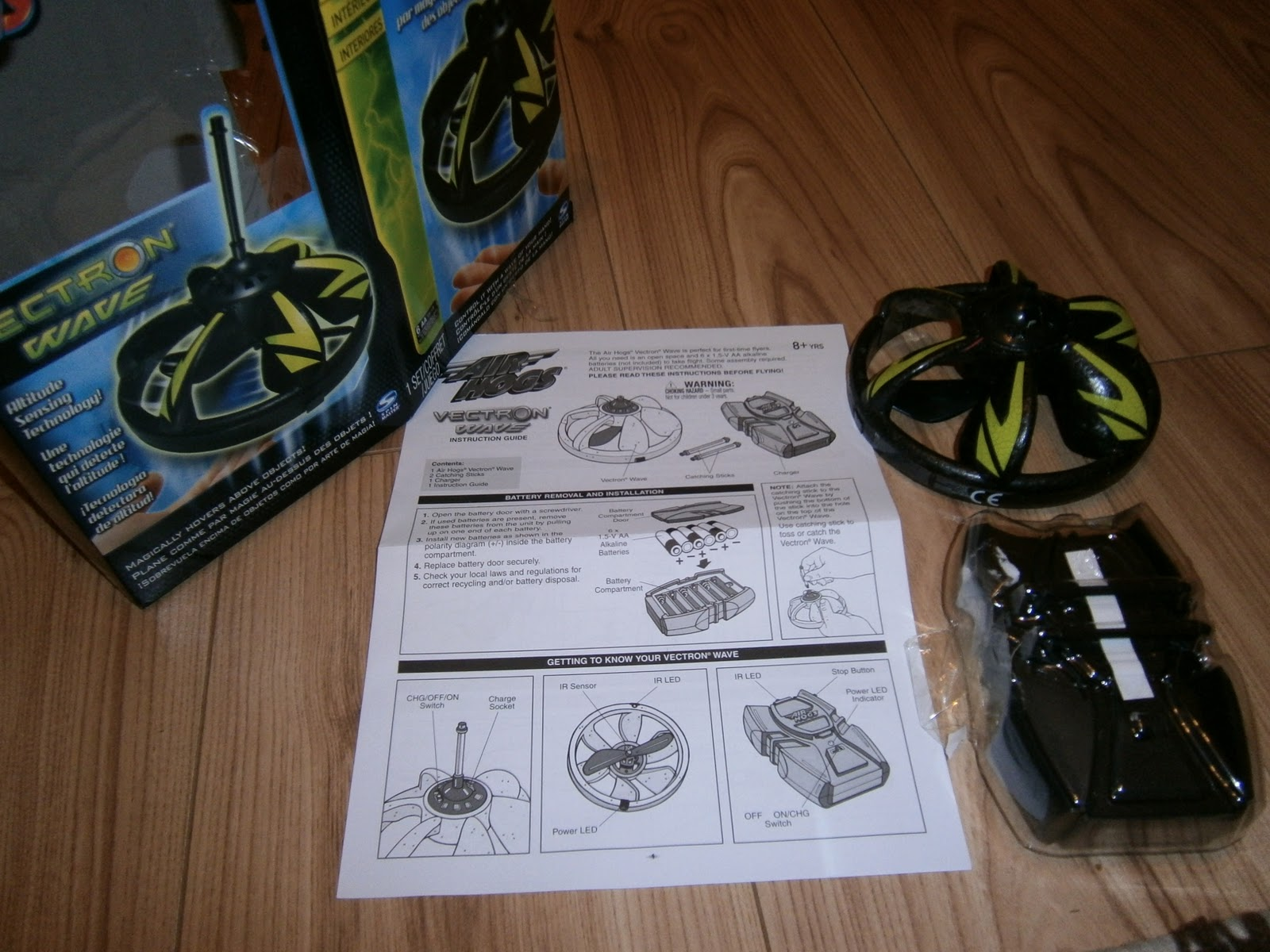 air hogs vectron instructions