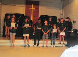 drama presentation at Worship Arts Camp