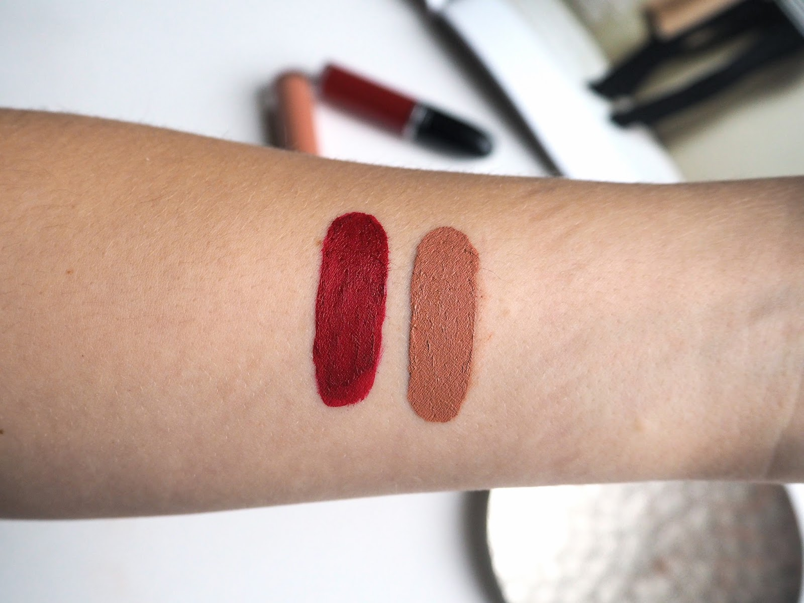 MAC Retro Matte Liquid Lipcolour Review & Swatches, Dance With Me, Lady Be Good, ladybegood