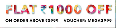 Get Flat Rs 1000 Off Rs 3999 :Buytoearn