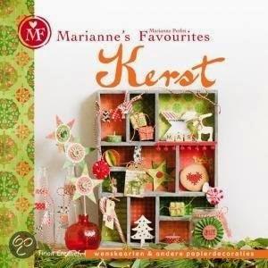 """Mijn creatie in Marianne Favourites """"Kerst"""""""