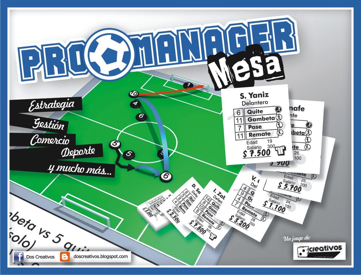 2 creativos juegos de mesa pro manager mesa ya est for Juego de mesa de futbol
