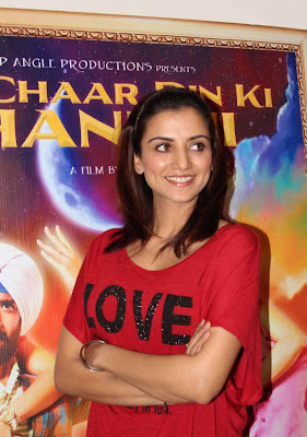 kulraj randhawa at chaar din ki chandni press meet hot images