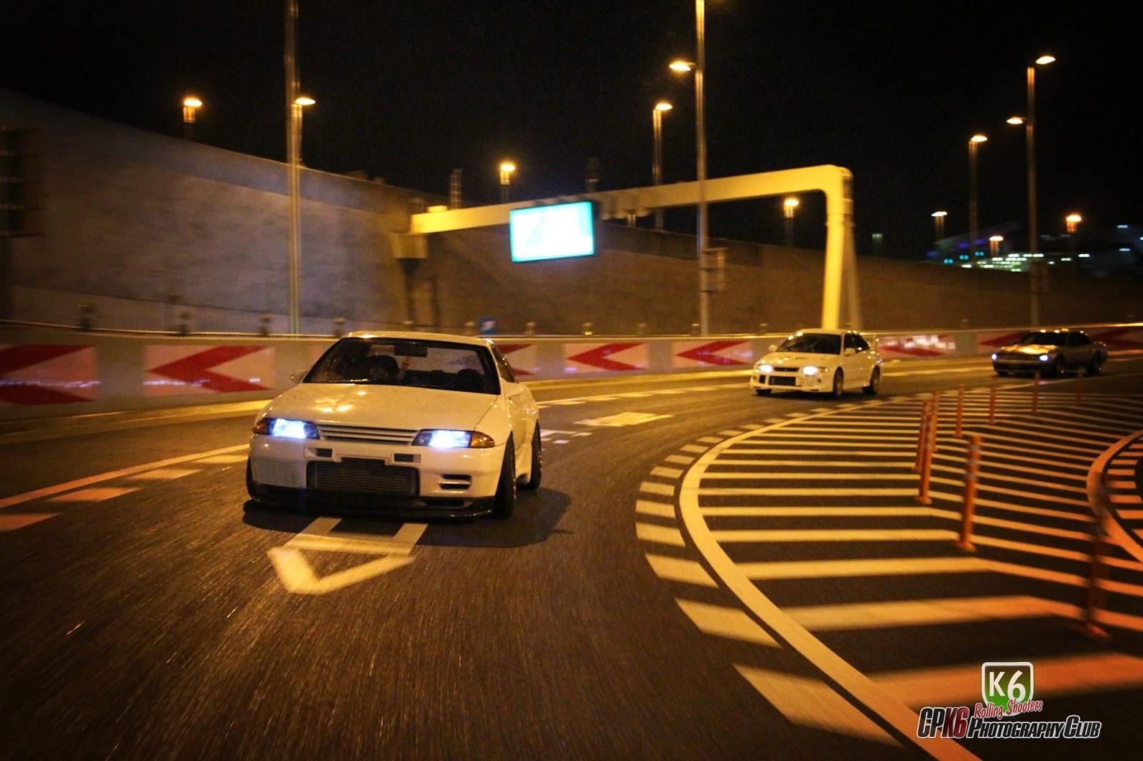 Nissan Skyline GT-R, R32, Godzilla, samochód z duszą, kultowe auto, sportowy, twin turbo, RB26DETT, AWD, pasja, tuning, nocna jazda, Japonia