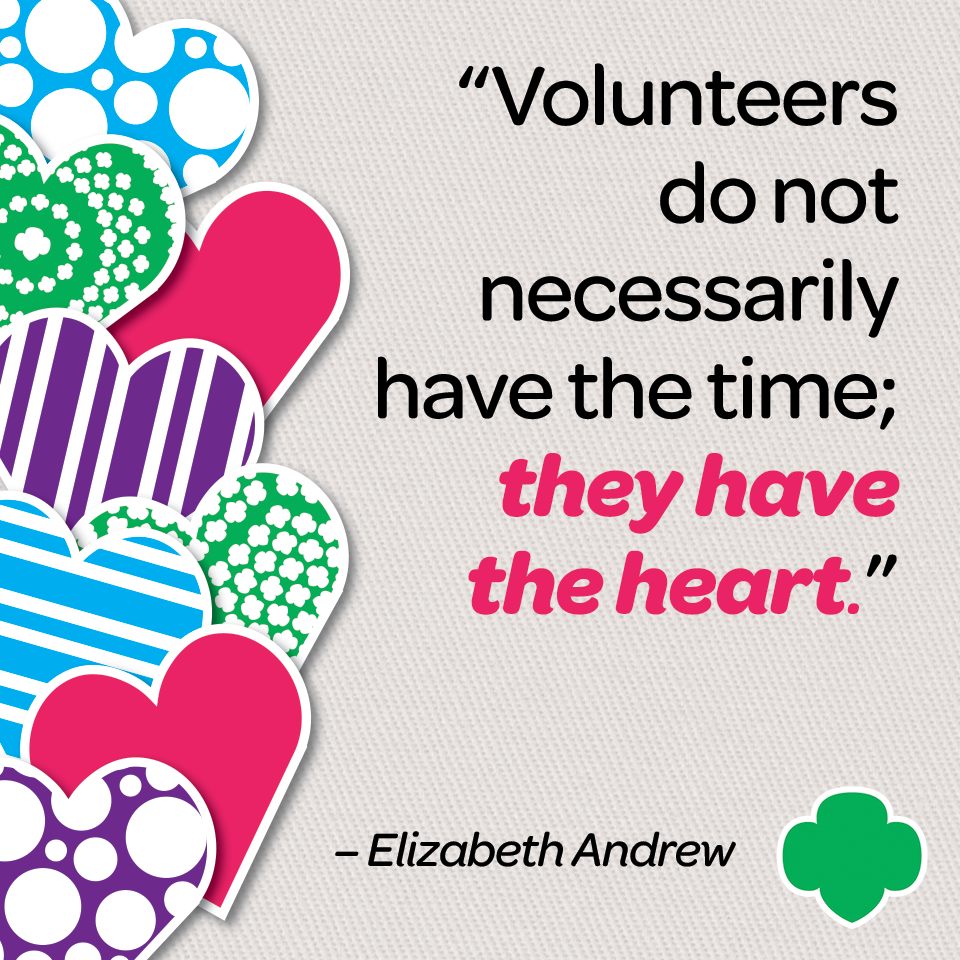 Girl Scout Blog: Happy Volunteer Appreciation Week!