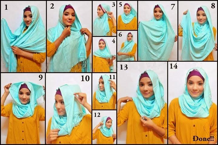 Model jilbab bergo elzatta terbaru