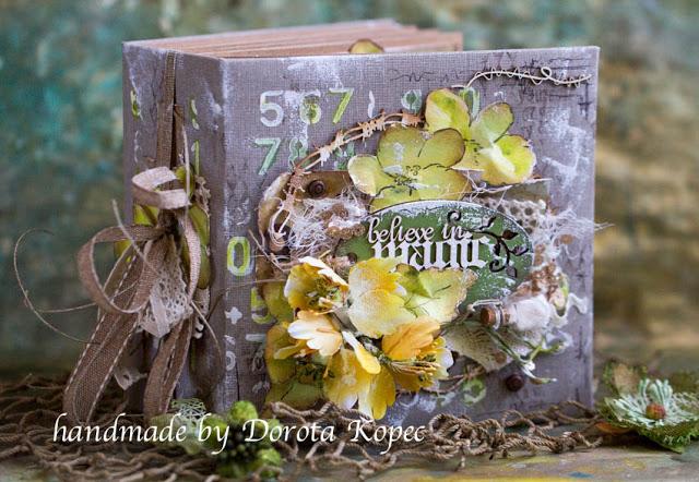 "candy w""  Handmade by Dorota Kopeć"""
