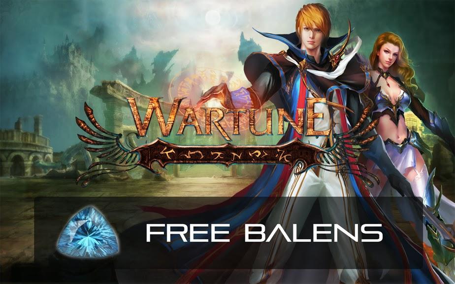 Earn Free Wartune Balens