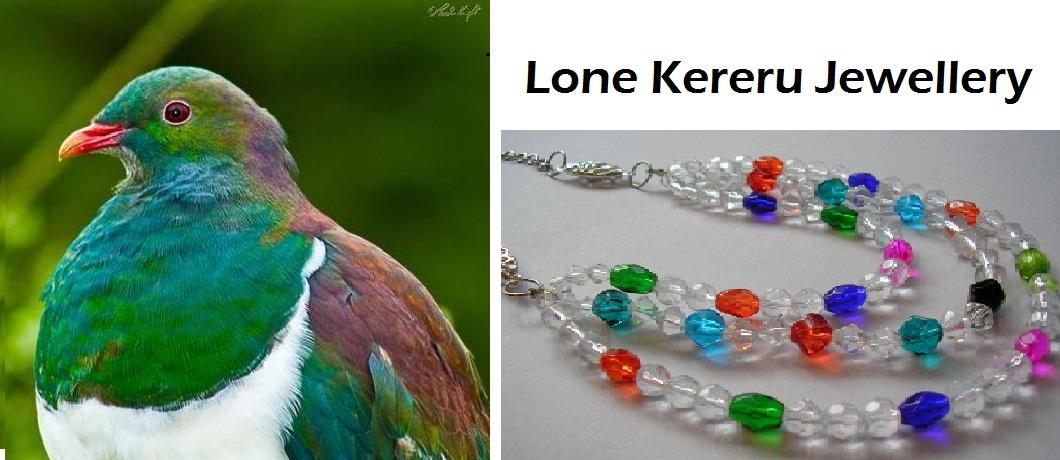 Lone Kereru Jewellery