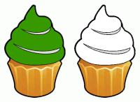 http://www.colorcombos.com/combomaker.html?design=cupcakes&output_width=100&size_option=element&colors=379900,FFFFFF&background_color=FFFFFF&show_hex_flag=Y
