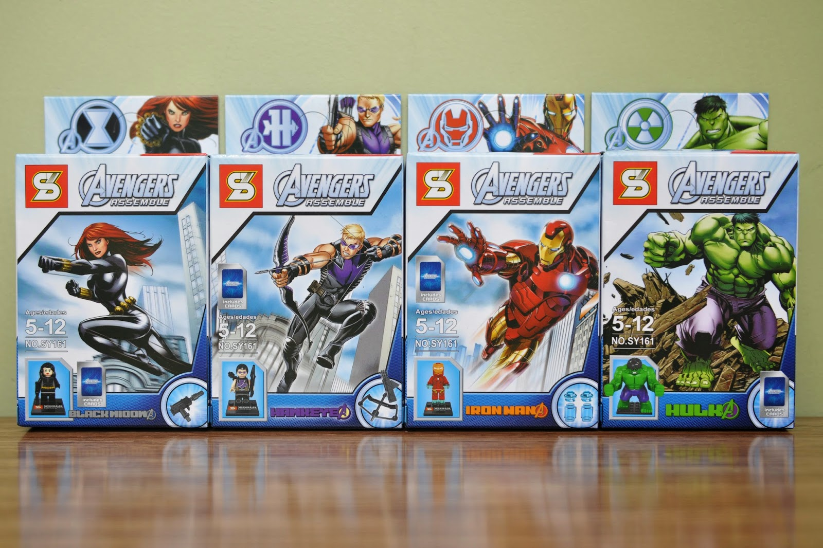 My Brick Store: Lego Superheroes Avengers - Bootleg version