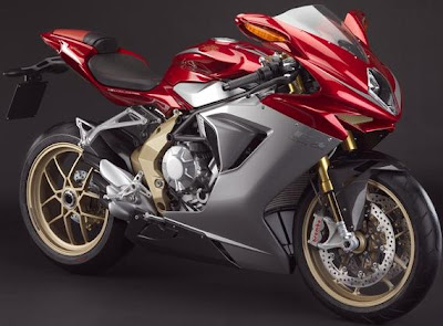MV Agusta F3 Golden Limited Edition
