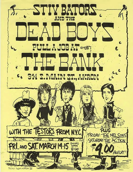 Here are the Dead Boys at their peak  performing Ain t It Fun  Dead Boys We Have Come For Your Children