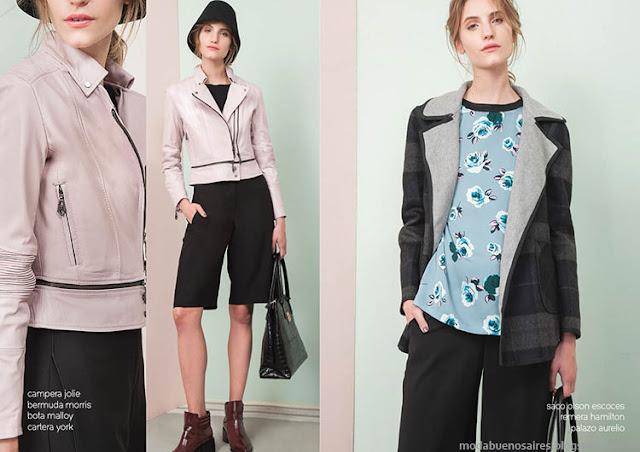 Camperas invierno 2015 moda Las Pepas. Moda invierno 2015.