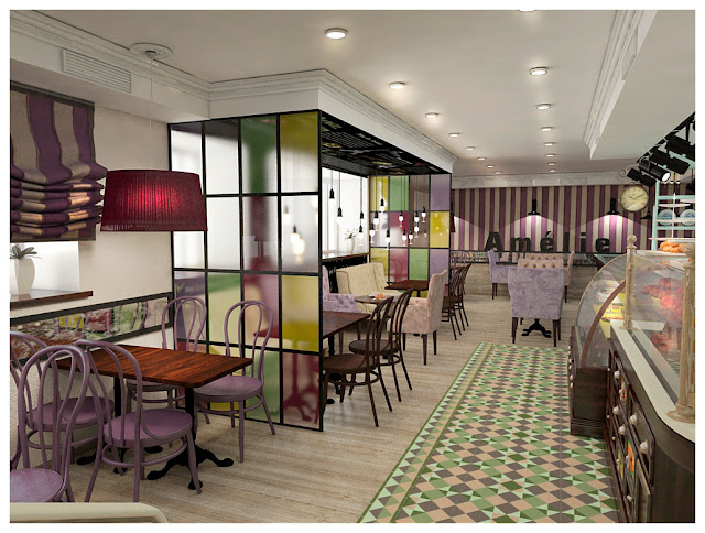 Дизайн проект кафе-пекарни