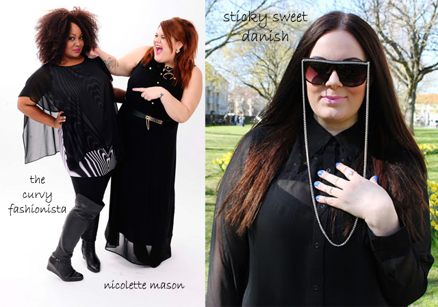 the curvy fashionista, nicolette mason, sticky sweet danish