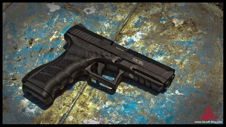 KWA ATP review, Adaptive Training Pistol, KWA KRISS, Airsoft Vector SMG, Airsoft gas blowback pistol, Airsoft guns, Pyramyd Airsoft Blog, Tom Harris Media