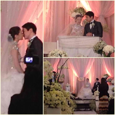 Maricar Reyes and Richard Poon wedding ceremony