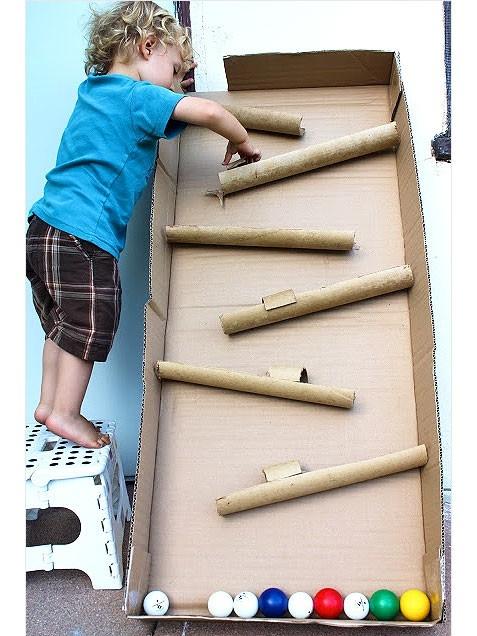 culoboyo: 25 Ide Kreatif Membuat Mainan dari Kardus