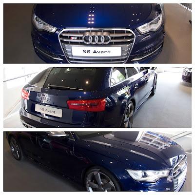 Audi S6 Avant from London