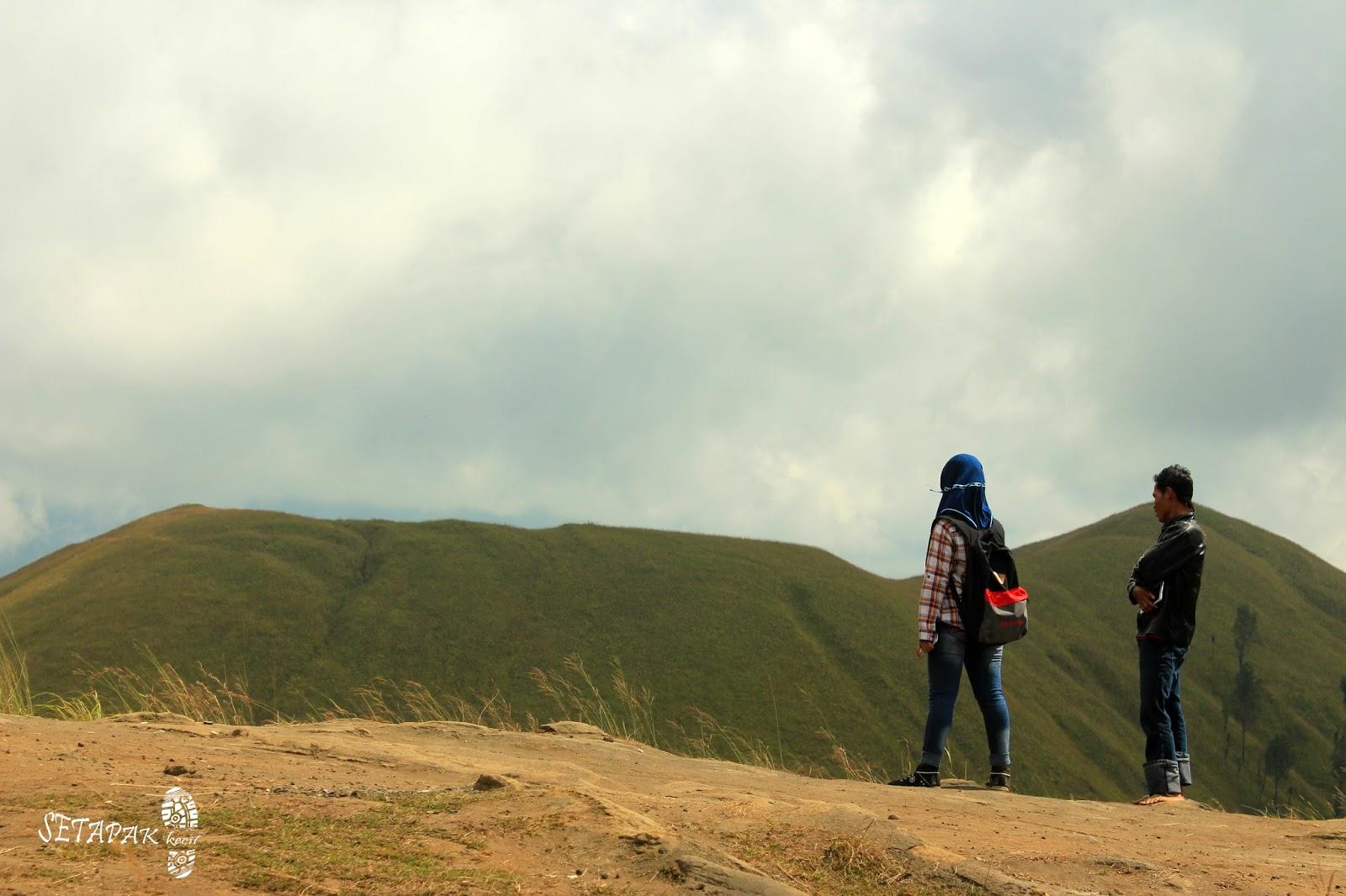 Memanjakan Mata dengan Hamparan Hijau Kawah Wurung Bondowoso