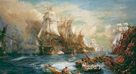 BATALLA DE TRAFALGAR (21/10/1805) REINO UNIDO,AUSTRIA,RUSIA,NÁPOLES,SUECIA Vs NAPOLEÓN BONAPARTE