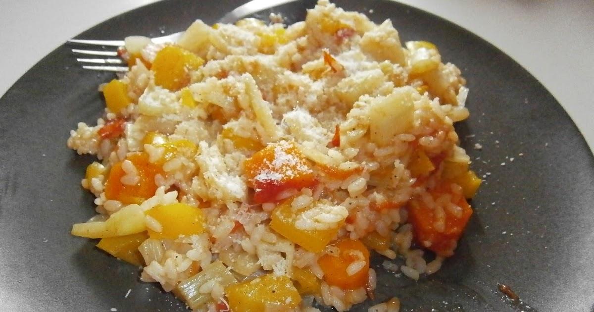 d lices d 39 une novice risotto de l gumes fenouil tomates carottes et poivron. Black Bedroom Furniture Sets. Home Design Ideas