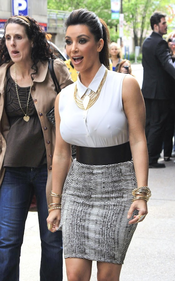 KIM KARDASHIAN  attends Belle Noel Jewelry Collection Promotion in Toronto