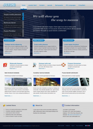 Share template JV Zuni - Joomla 1.5