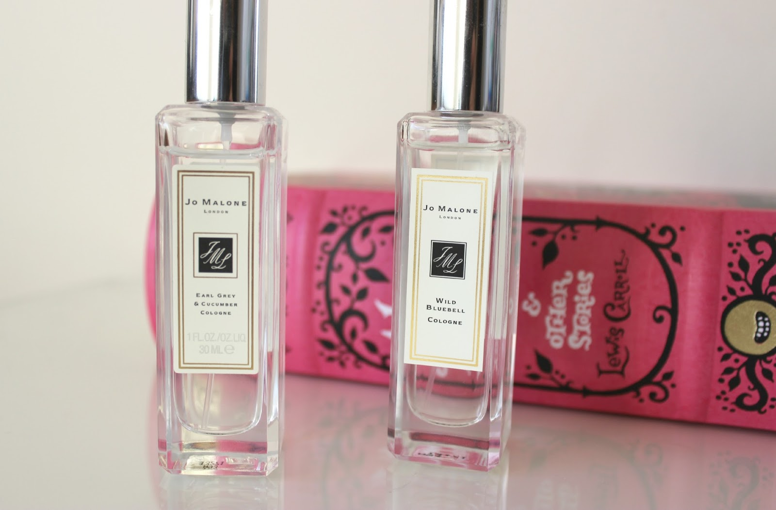 A picture of Jo Malone Earl Grey & Cucumber Cologne and Wild Bluebell Cologne