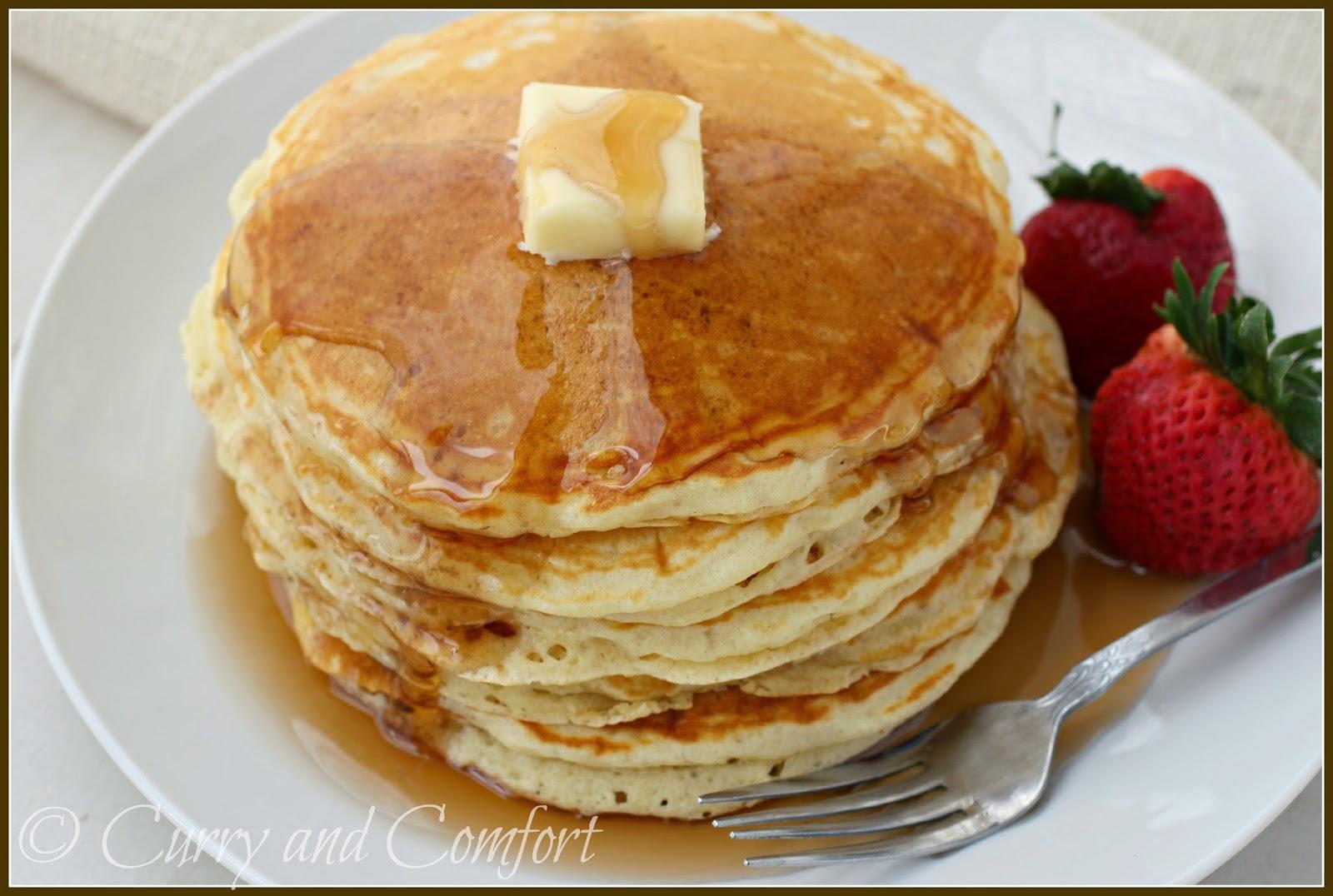 Kitchen Simmer: Buttermilk Pancakes for National Pancake Day