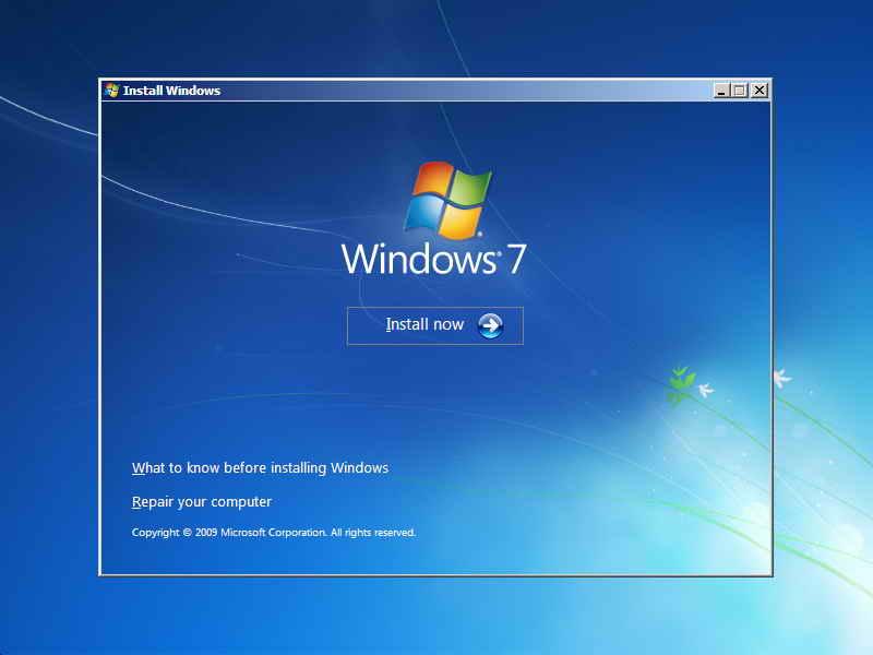 Cara Instal Ulang PC Windows 7 Menggunakan Flashdisk | GUBUK SOFTWARE