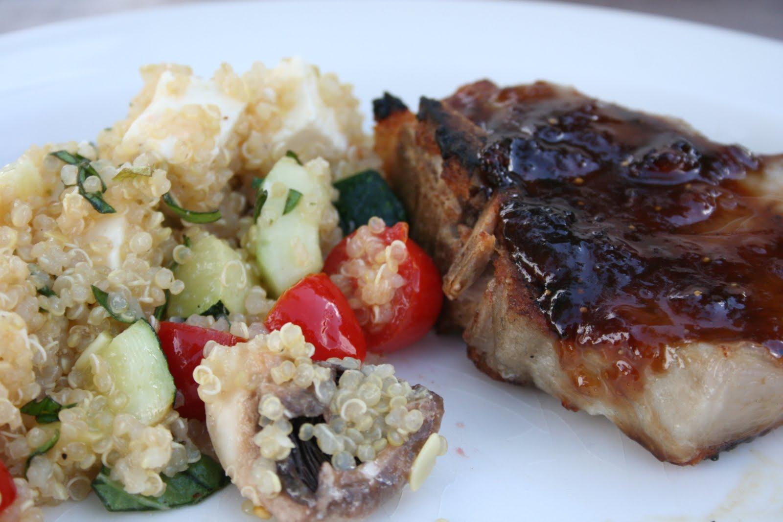 Pork Chops In Balsamic Fig Sauce Recipes — Dishmaps