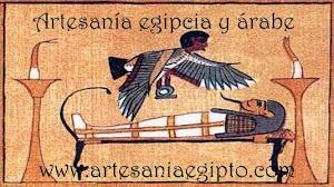 ARTESANÍA EGIPCIA Y CACHIMBAS