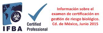 Información sobre el examen de certificación