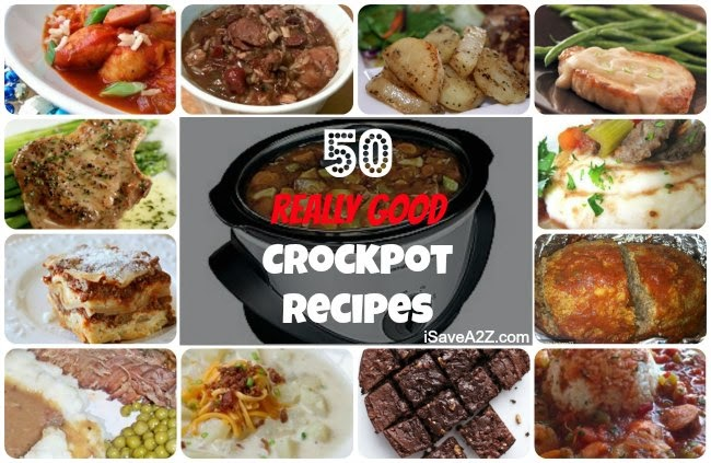 50 Easy & Delicious Crockpot Recipes