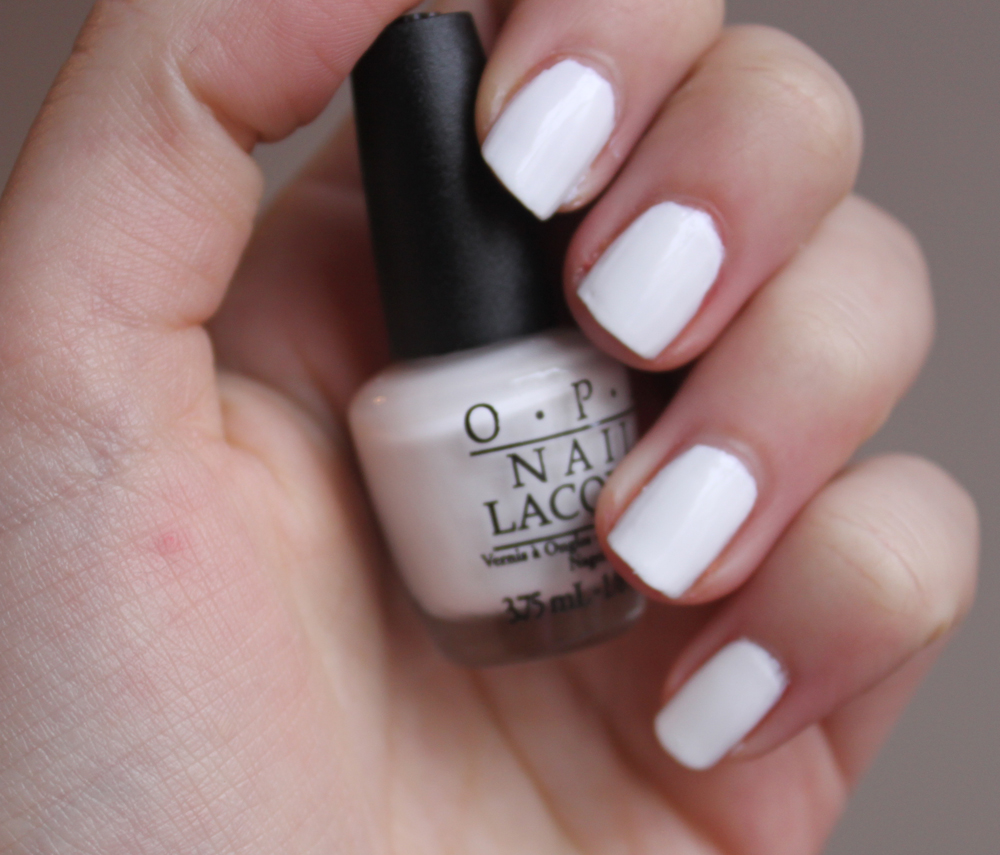 OPI Alpine Snow - A Little Obsessed