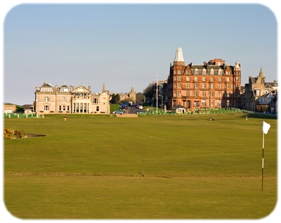 Golfing at St Andrews