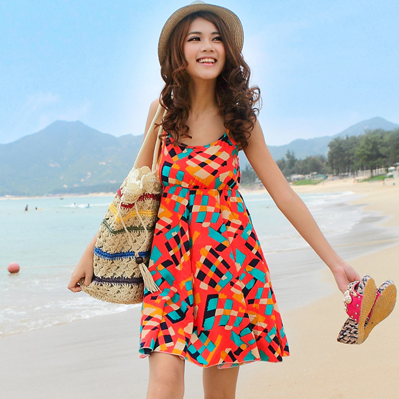 Model Dress baju Pantai Wanita
